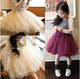 2015 New Baby Girl Tutu Skirt Chiffon Lace Princess Dance Party Pettiskirt Kids Rainbow Candy Floral Silk Ballet Saias Skirts