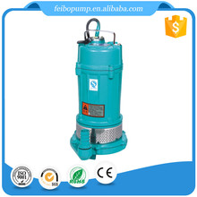 Wholesale price small portable QDX series 0.5 1 1.5 2 hp single phase electric motor clean water submersible pump