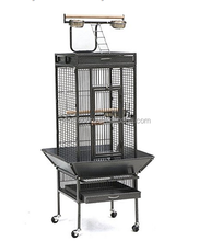 Eco-friendly feature large double parrot cage