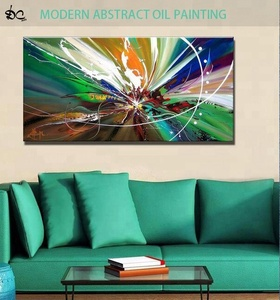 Beautiful home goods abstract oil painting