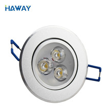 Good price Commercial 22w Citizen Led Spotlight 3w Warm White Downlight with long lifetime