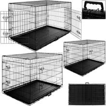 Hot Sale Eco-Friendly Cheap Wire Mesh Dog Crate Dog Cages Foldable Dog Kennel PET Kennel