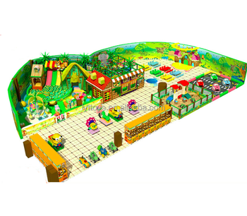 Colorful naughty castle used commercial playground equipment sale