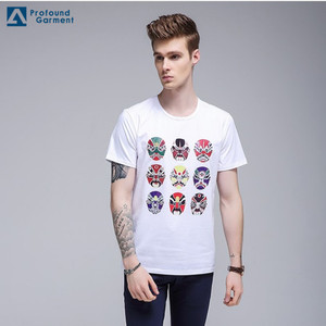 Guangzhou supplier custom printed design your own t shirt