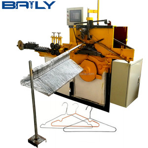 High speed CNC galvanized wire clothes hanger making machine, wire hanger machine