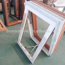 Latest design aluminum casement window impact hurricane windows