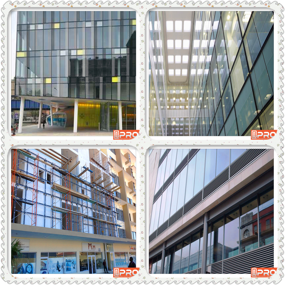 China Supplier Facade Reflection Aluminum Glass Curtain Wall Price ...