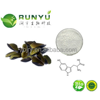 RUNYU GMP ISO 100% pure Natural Griffonia Simplicifolia seed extract 5-HTP with best price