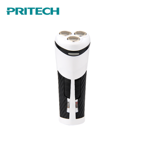 PRITECH Customized Mini Rechargeable Electric Mens' Shaver With Led Light