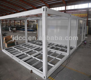 Prefab A Frame >> Quality Steel Frame Sandwich Panel Container House Iso9001:2000 - Buy Container House,Container ...