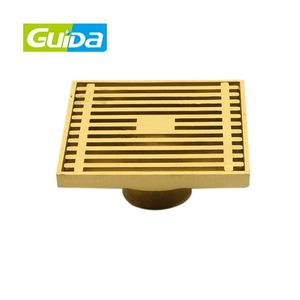 China GUIDA manufacturer's sale good product brass sanitary shower floor drain