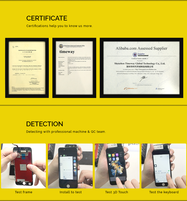 Alibaba best sellers Lcd for apple iphone 6S OEM AAA+ lcd screen for iphone 6S lcd display