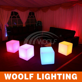 Led Party Glow Party Led Chairs LED 3d Cube