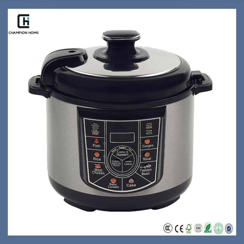 Commercial Electric Pressure Cooker ~ Stainless steel commercial electric pressure cookers made
