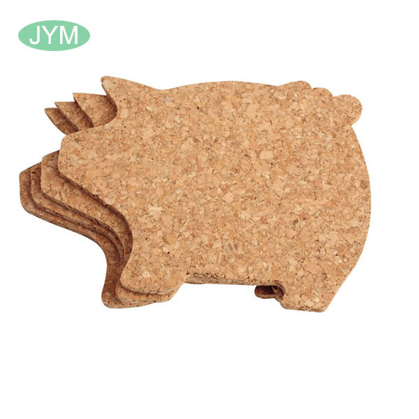 China manufacturer low price custom blank cork coaster