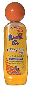 Ricitos De Oro Honey Bee Baby Shampoo - Shampoo De Miel Para Bebe 8.5 Fo