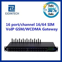 voip products voip 16 port gsm/WCDMA gateway support vpn free registration