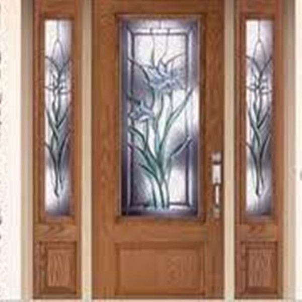 Decorative glass storm doors decorative glass inserts for Decorative glass for entry doors