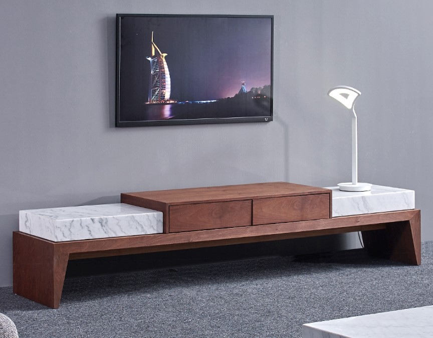 Tv Cabinet Modern Living Room Furniture Design Marble Top Wooden Tv Stand View Tv Stand Shann Product Details From Foshan City Shann Furniture Co Ltd On Alibaba Com