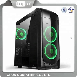 Hot Selling Computer Accessories Computer Gaming Case USB2.0 3.0 LED Fan ATX PC Case
