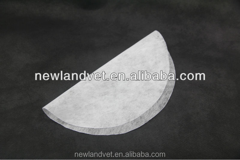 NL1026 100% cotton semen filter paper fiber paper/ pig veterinary artificial insemination