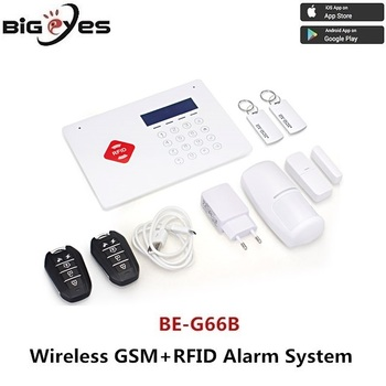 Smart Home Guardian Dual Network GSM+RFID Wireless Intelligent Security Alarm System