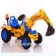 Electric mini navvy excavator power shovel for children to drive