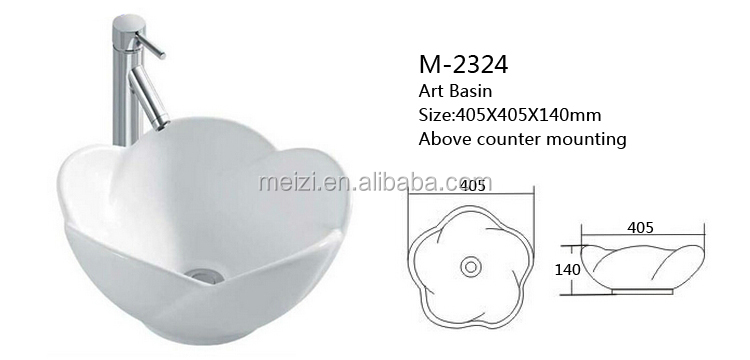 Bathroom art ceramic deep basin sink