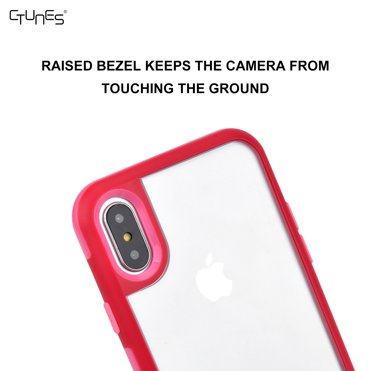 CTUNES New Design Phone Case for iphone X , Interchangeable Back Plate With Custom Pattern Design Bumper Case for iphone X