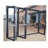 commercial double steel glass doors/stainless steel door/double hung steel door