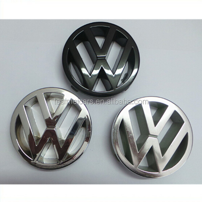 Custom ABS Logo Plastic Chrome Car Badges Emblems For Cars