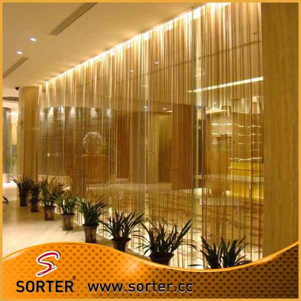 Metal Fabric Partition/metal Coil Drapery/metal Woven Wire Mesh ...