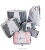 Travel Packing Cubes Luggage Organizers: 4pc Eco Set + Accessories Pouch, Packing cubes