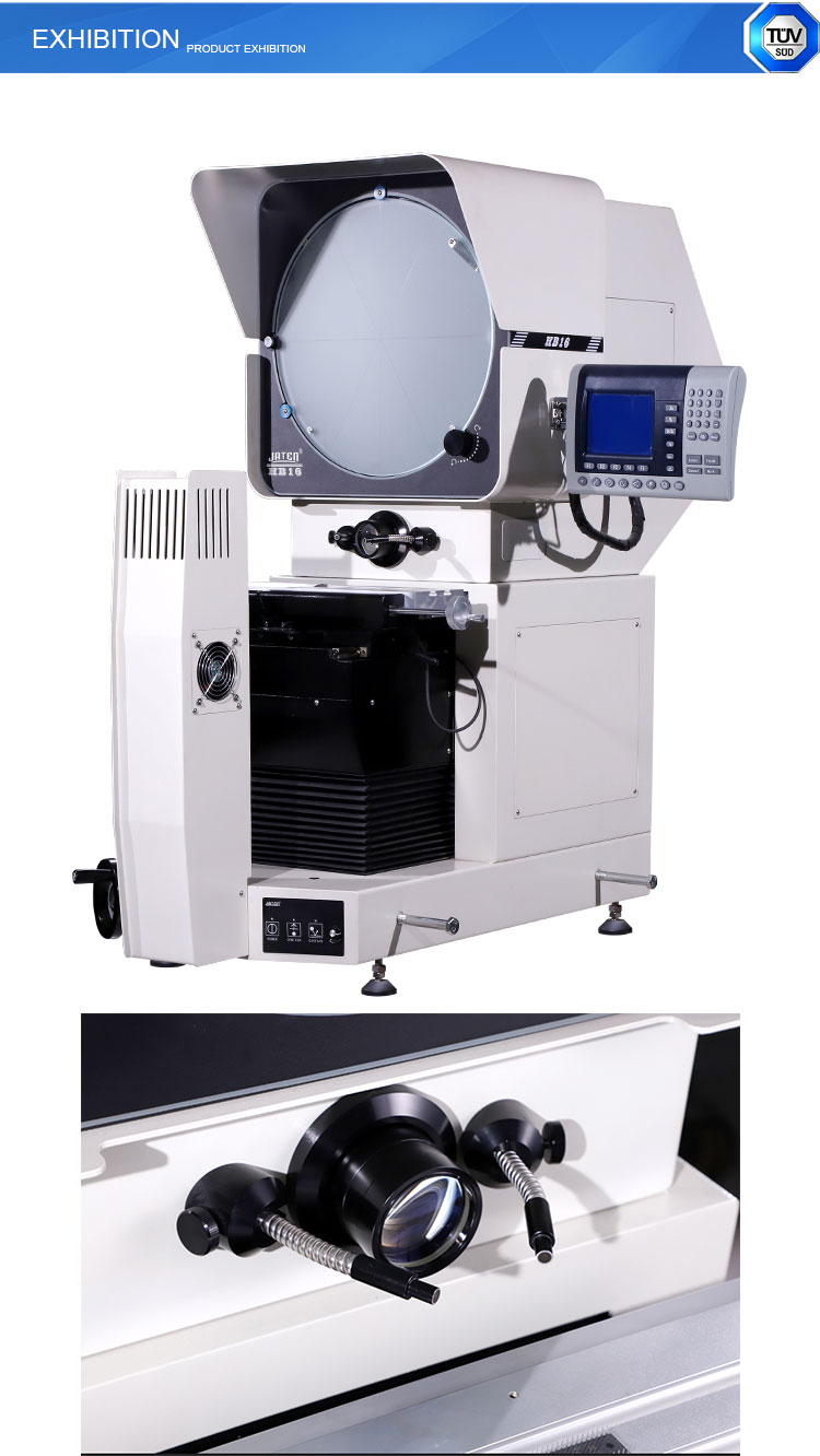 Horizontal  400mm Screen Optical Profile Projector