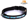 high-end nylon flashing led dog collar pet product dog product