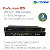 Tuner Input SD/HD MPEG2 Or H 264 Decoding CI+BISS Decryption DVB-S2 HD IRD