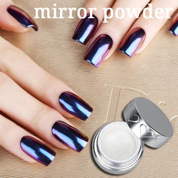Magic Metallic Powder Gel Polish Mirror Pigment Powder Metallic Nail
