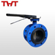 6 inch two-way flange butterfly valve