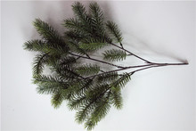 pine tree branch making artificial simulation pine tree foliage
