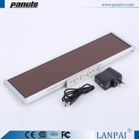 Best quality of display color red programable led message display