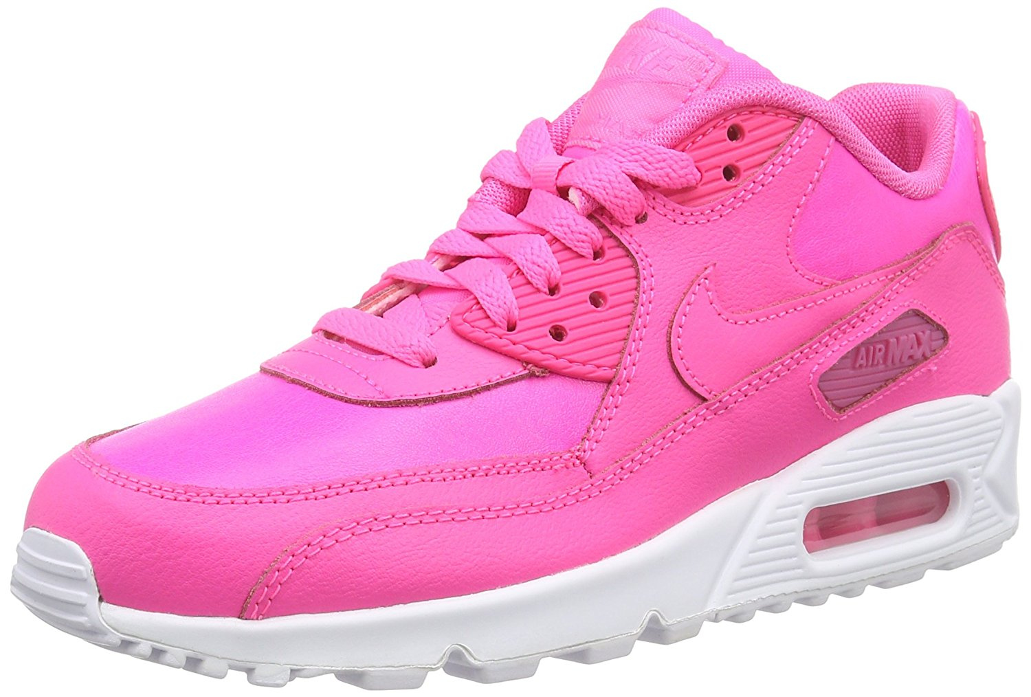 best service 35bdb c836a Get Quotations · Nike Air Max 90 LTR (GS) Running Shoes Sneakers 724852-600
