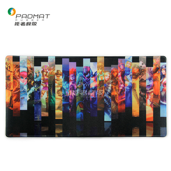 High quality Waterproof gaming mouse pad with logo print