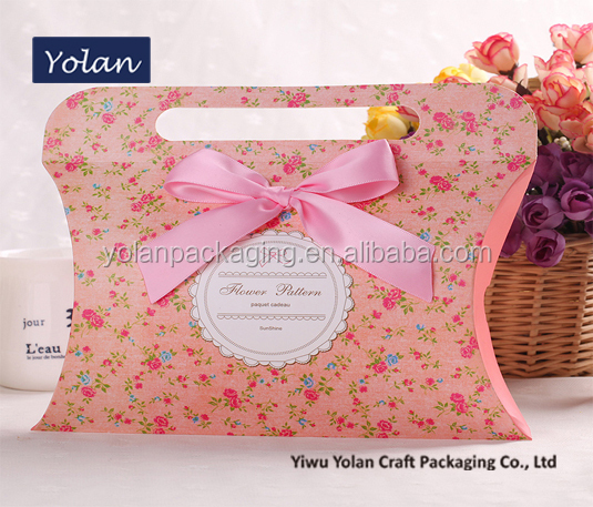2015 new products paper bags, gift paper bags, pillow box