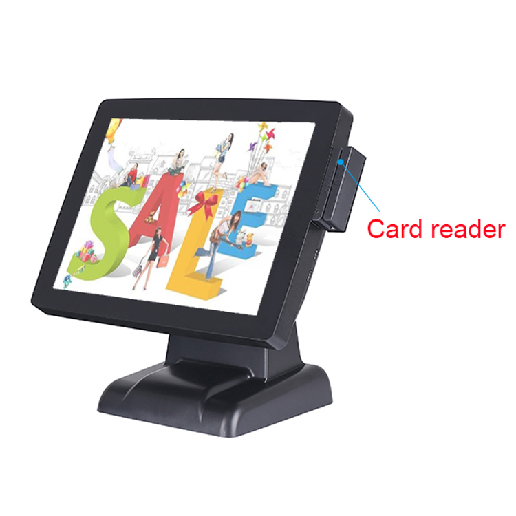 Manufacturer Card Reader Black China touch pos computer