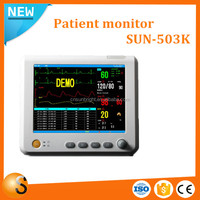Top quality six parameters vital sign monitor with excellent after service