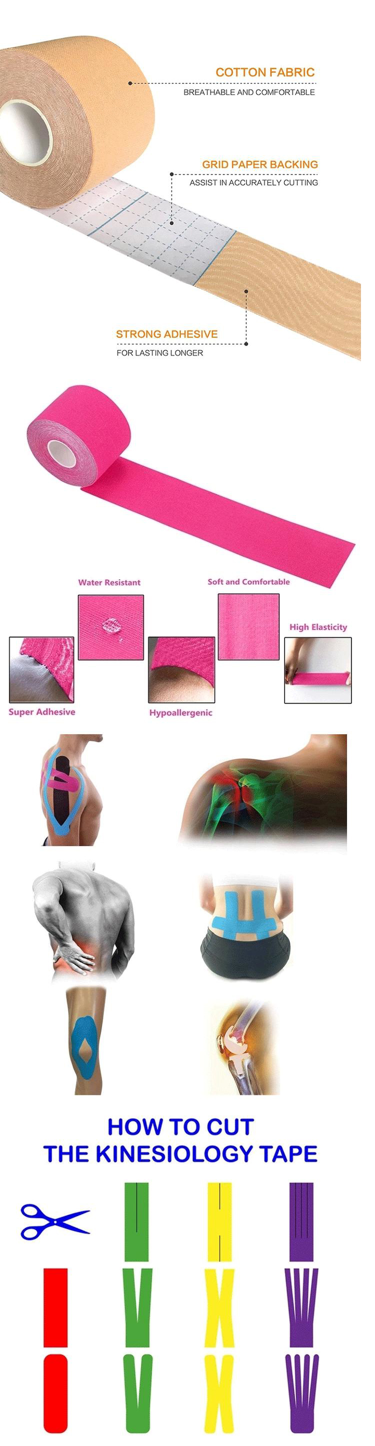 Atletische Tapes Kinesio Tape Body Tape Sport Tapes