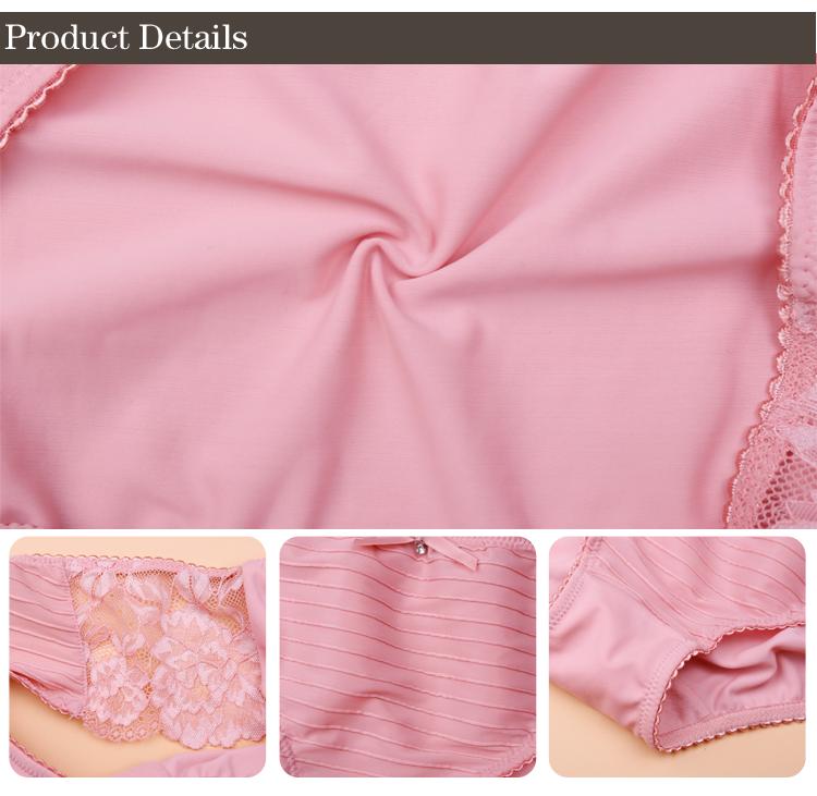 Custom make fashional cut underwear for fat ladies