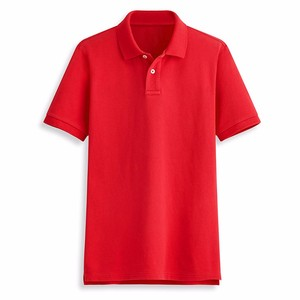 Blank Custom Wholesale Cheap Price Fancy Design 100% Cotton Man Polo T-shirt
