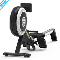 SJ-R300 Luxury commercial fitness equipment seated magnetic rowing machine