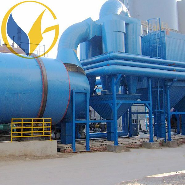 Activated Clay Lime Mortar 500tph Stainless Rotary Dryer Tashkent Project price Uzbekistan installed